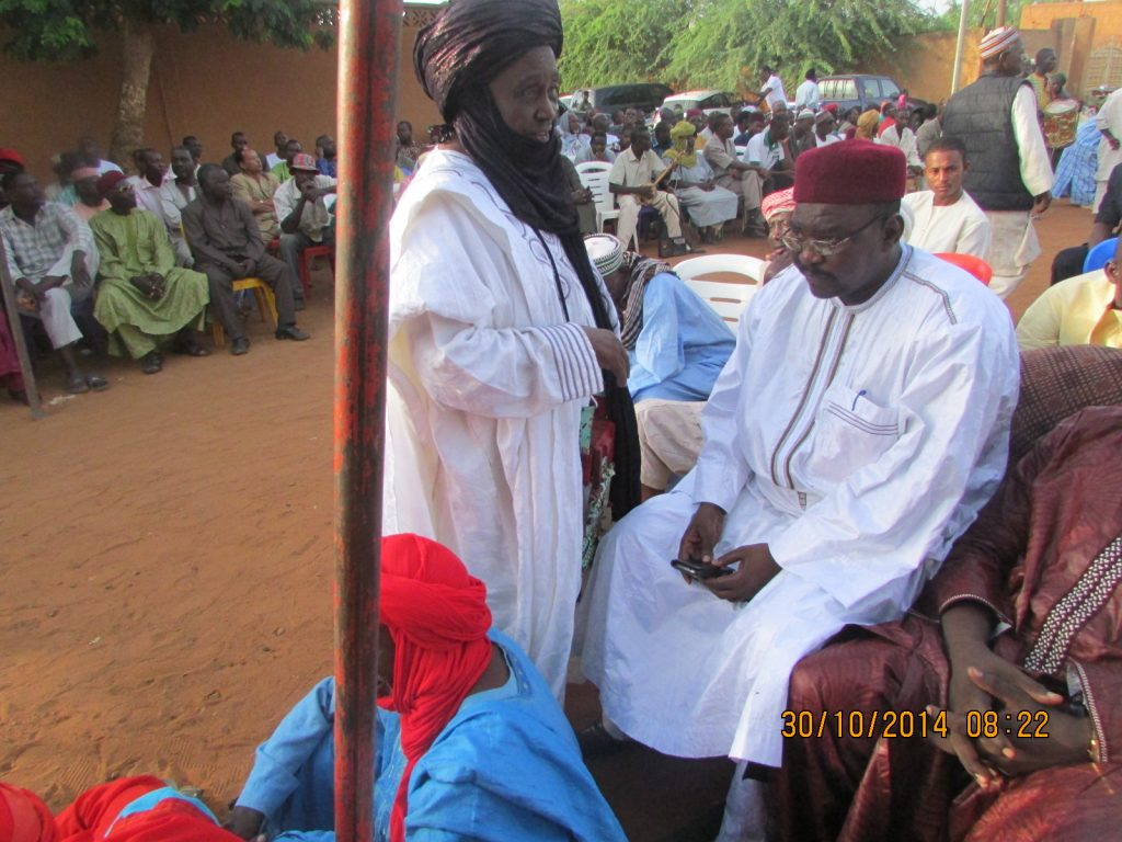 Particpants à un mariage Hausa