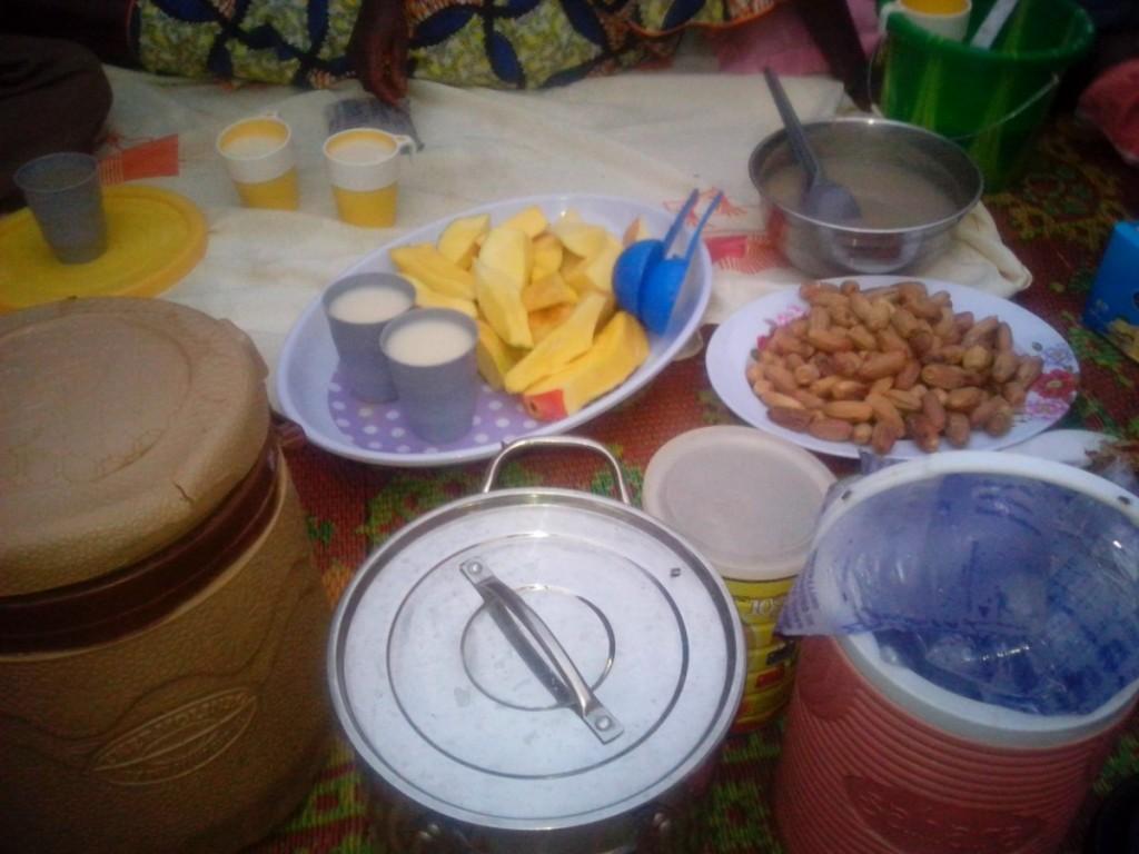 La table d'un modeste jeûneur